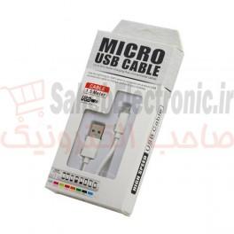 کابل میکرو USB طول 1.5 متر