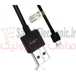کابل میکرو USB گوشی سونی اصلی EC801