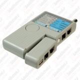 تستر کابل شبکه RJ45/BNC/RJ11/USB کی نت