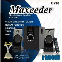 اسپیکر سه تیکه مکسیدر  MX-PS1403 DV02