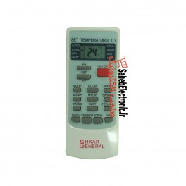 کنترل کولر اسپلیت مدل YKR-H/006E